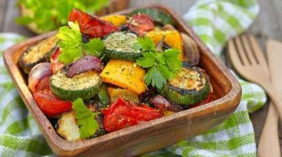 Максимум пользы – ароматные овощи на гриле!