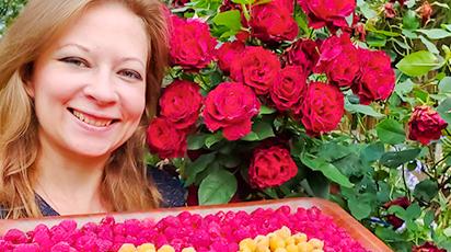 Пышный сад: в гостях у покупателя Светланы Самойловой