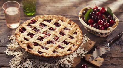 Вишневый пирог - летняя вкуснятина