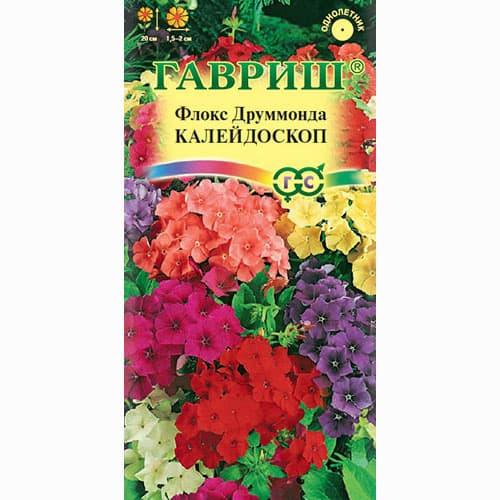 Флокс Друммонда Калейдоскоп, смесь окрасок изображение 1 артикул 71256