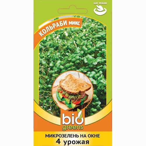Микрозелень Кольраби микс, смесь семян изображение 1 артикул 69846