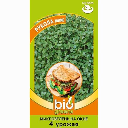 Микрозелень Рукола микс, смесь семян изображение 1 артикул 69851