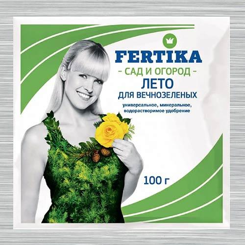 Удобрения Фертика Хвойное для вечнозеленых изображение 1 артикул 1404